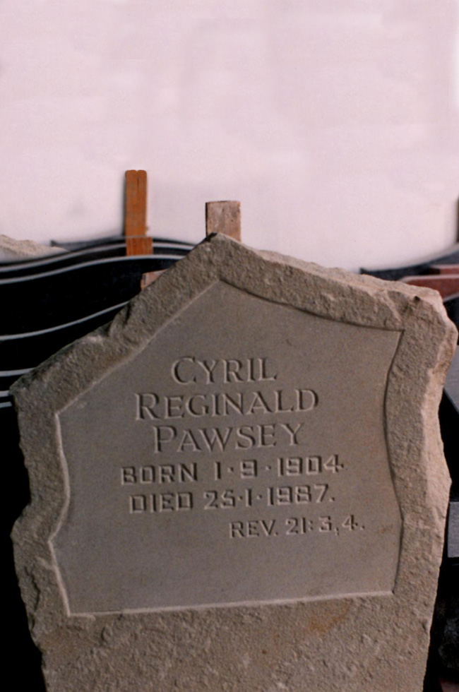 N C Pegler Ltd Monumental Sculptors - bespoke memorials